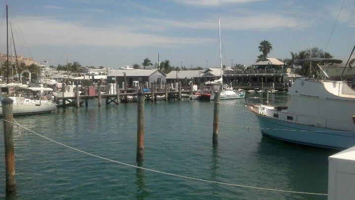 The marina at Key West.