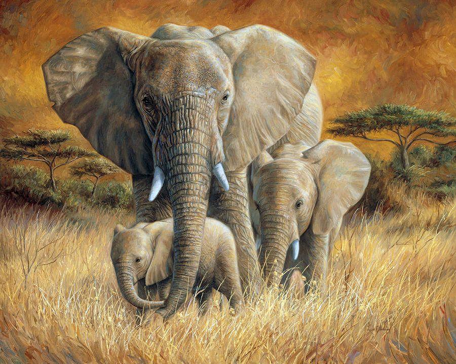 Картинки со слонами нарисованные, день рождения подружку