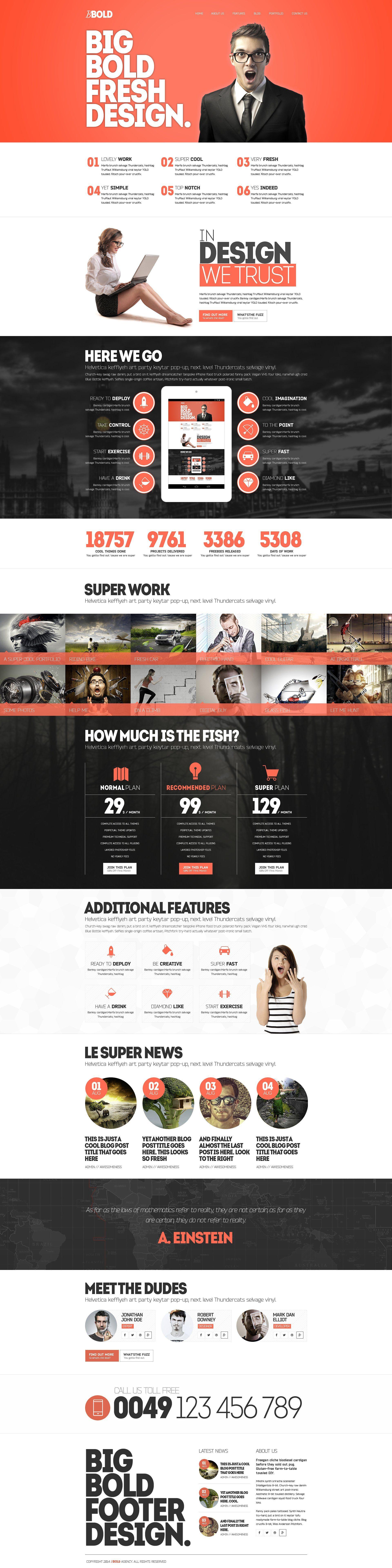 Bbold Wordpress Theme Layout Custom Container Width Website Design Web Development Design Web Design