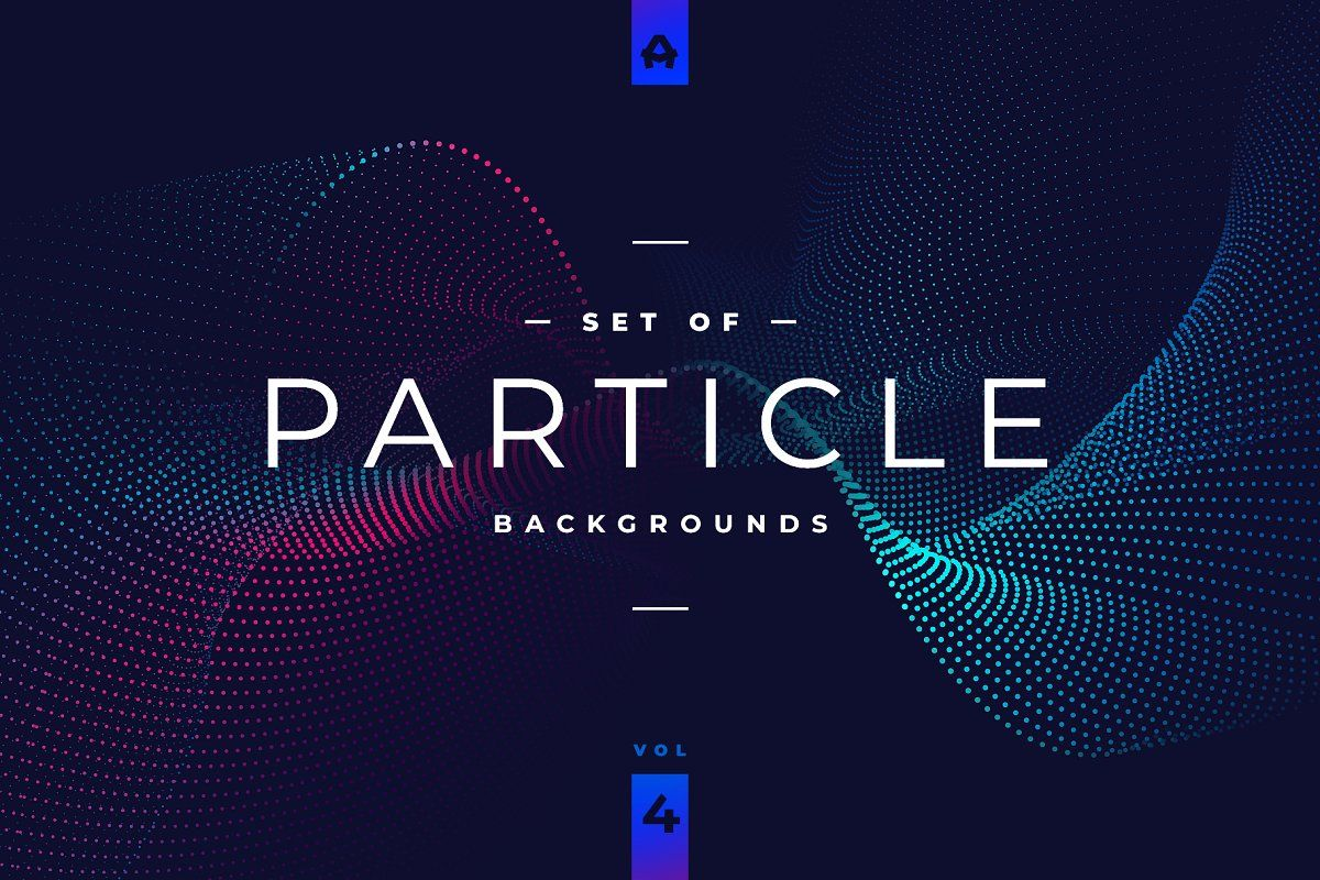 Particle Abstract Backgrounds Vol 4 Abstract Backgrounds Mood Board Template Abstract