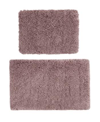 510 Design Annie Tufted 2 Pc Bath Rug Set Dusty Purple Bath