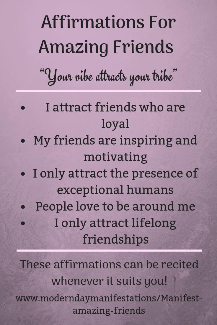 Manifest Amazing Friends – 9 Insightful Tips