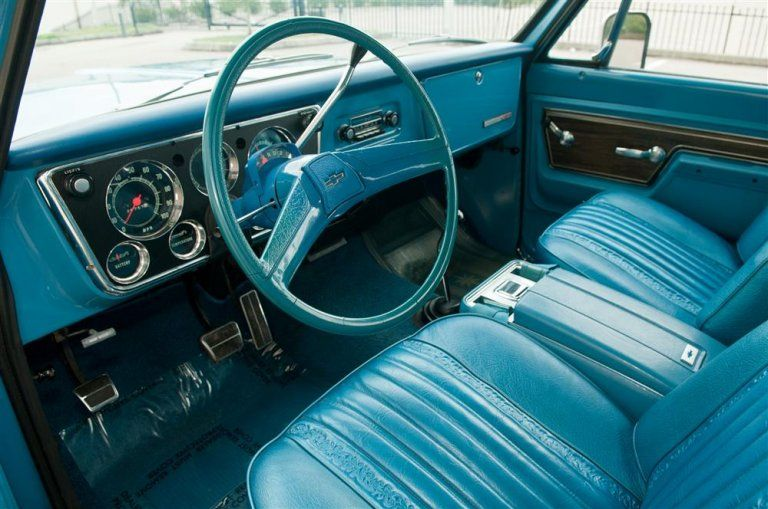 1972 Chevrolet K5 Blazer Chevrolet Blazer Chevrolet Truck Interior