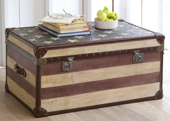 Americana Trunk from Pottery Barn