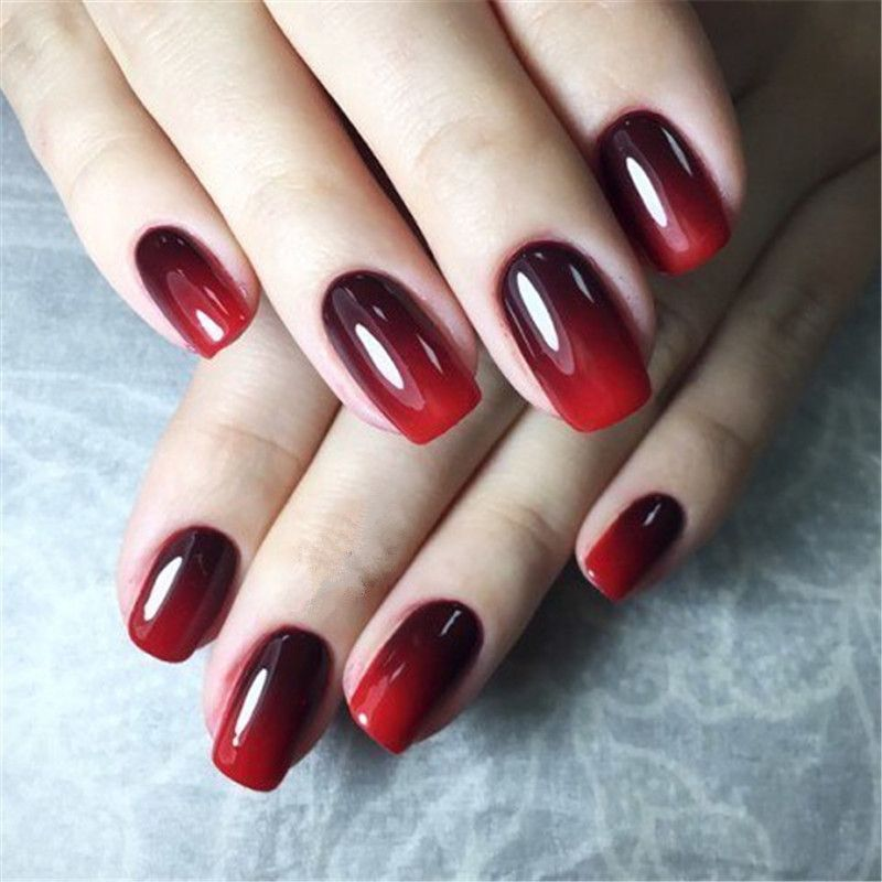 Yao Shun Mudança de Humor Gel Unha Polonês de 8 ml Long-Lasting Soak-Off Led UV Gel Laca Camaleão Verniz de unhas de Gel Manicure