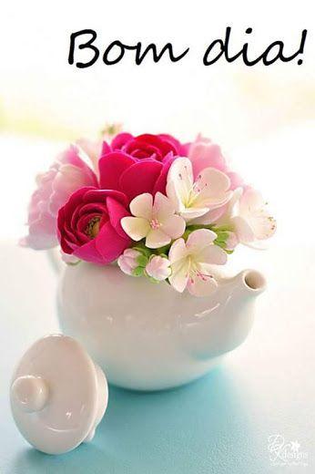 Bom Dia Bom Dia Com Flores Arranjos De Flores Imagens Mensagens