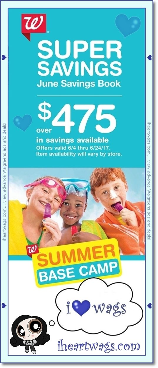 preview of walgreens coupon book for june!   view it here:   http://www.iheartwags.com/2017/06/june-2017-coupon-book-0604-0624.html   #wags #coupons #couponing #couponcommunity