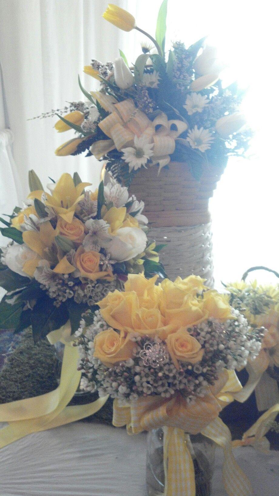 Country lemon yellow Wedding theme Country wedding