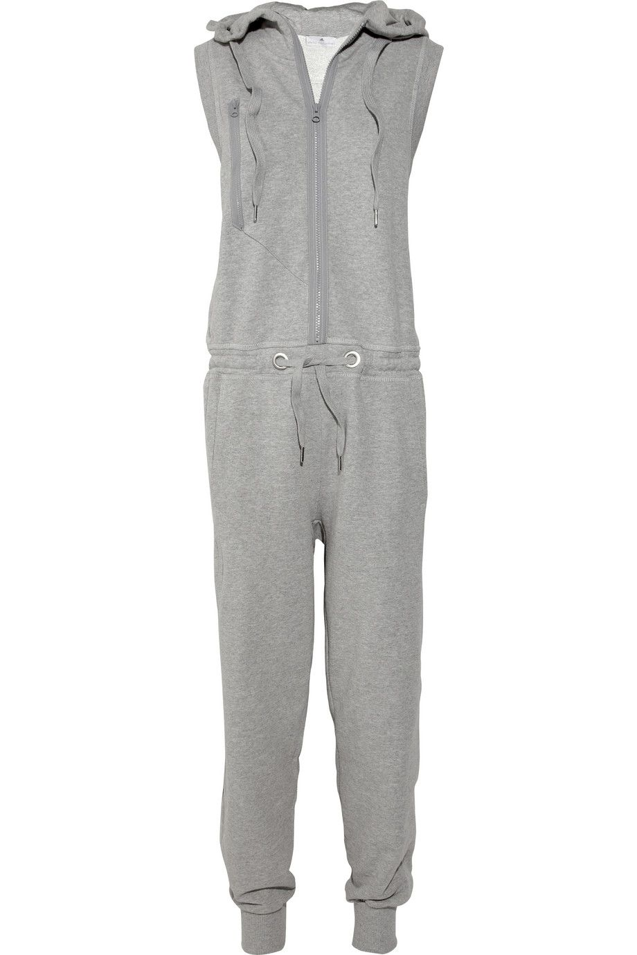804bfb4b587 this looks soooo comfortable!   ski cotton-jersey jumpsuit   adidas ...
