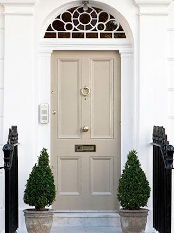 Feng Shui Of Front Doors In Beige And Sandy Colors Beige Colour