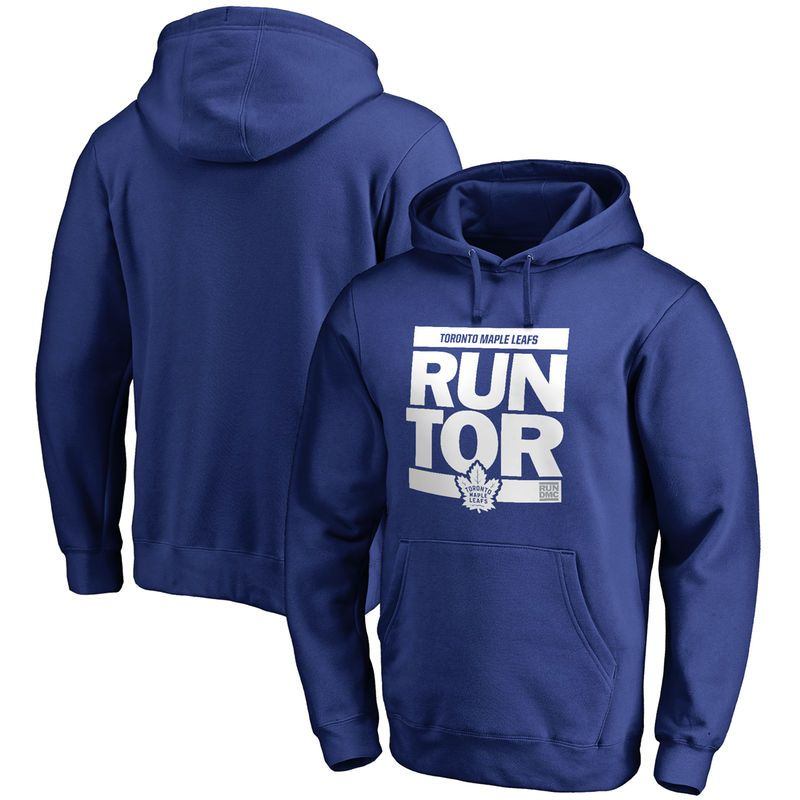 Toronto Maple Leafs RUN-CTY Pullover Hoodie - Royal