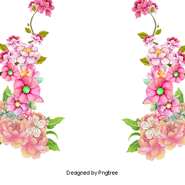 Graphic Design Flowers Frame Floral Border Design Vector Graphic Design Floral Border Floral Clipar Floral Border Design Floral Border Floral Wreath Watercolor