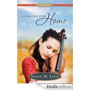 Longing for Home: A Proper Romance by Sarah M. Eden... I am not done with this one yet but I've read the first 250 pages just today! I'm thinking it's going to be a late night for me, because these characters and the flawless storytelling along with the rich history contained within has been an absolute joy to read. I hear she has a related book coming out very soon - looking forward to it!