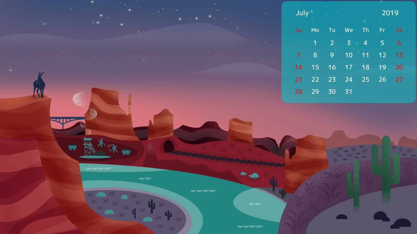 July 2019 Desktop Hd Calendar Calendar Wallpaper 2019 Calendar Desktop Wallpaper
