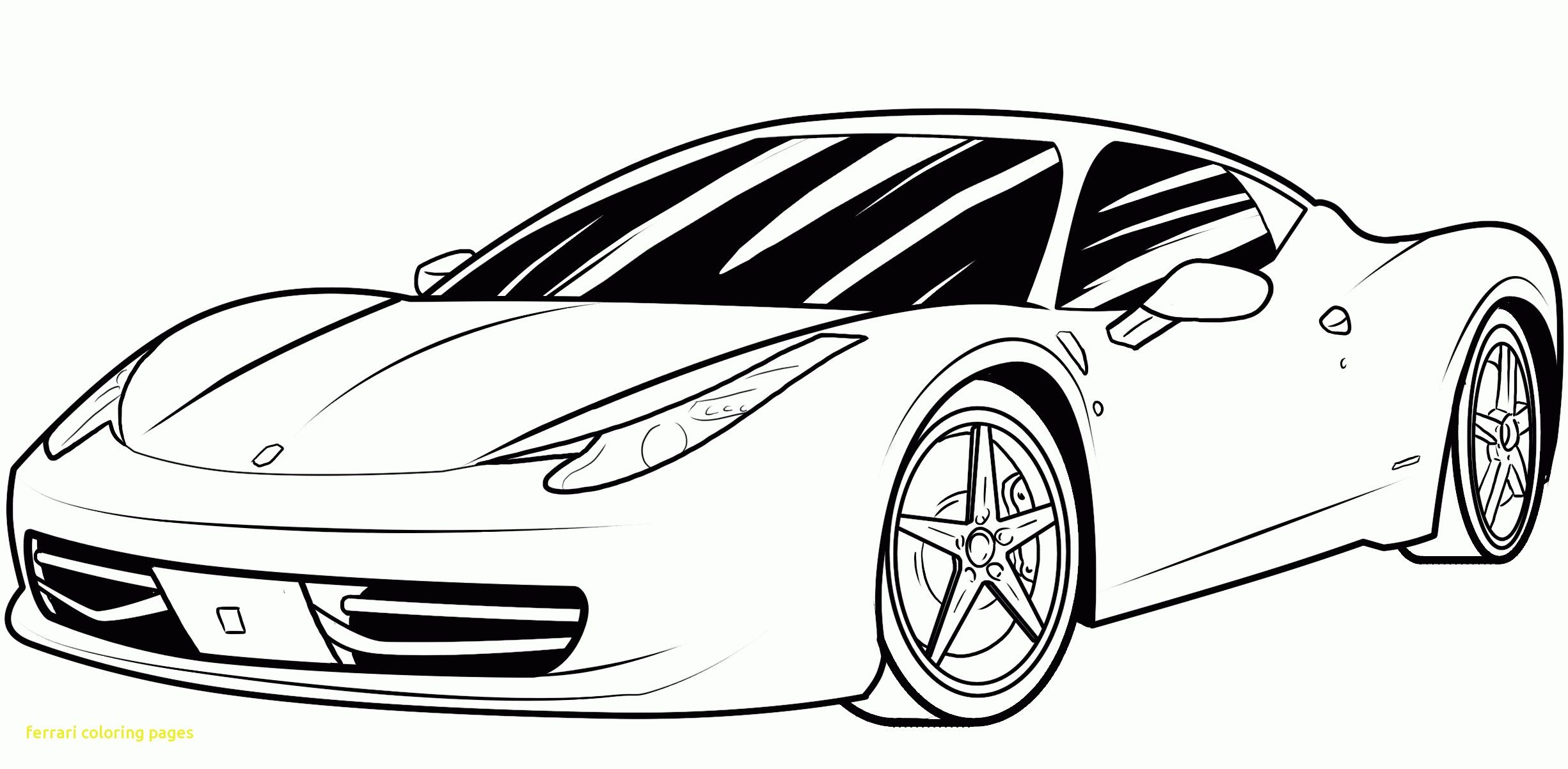 Ferrari Colouring Pages To Print Cars Coloring Pages Race Car