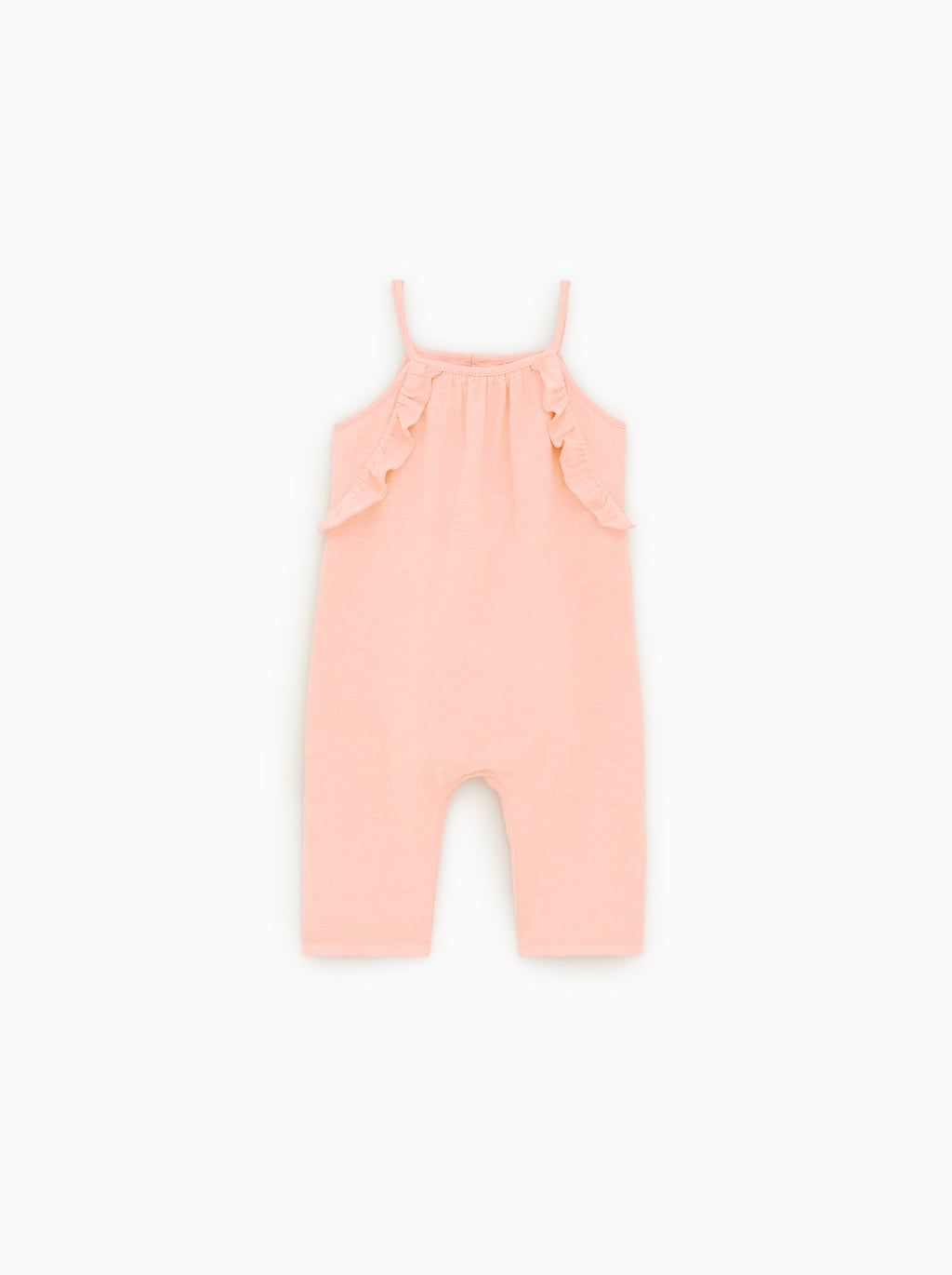 74d415c34 RUFFLED OVERALLS - View All-DRESSES AND JUMPSUITS-BABY GIRL   3 mth ...