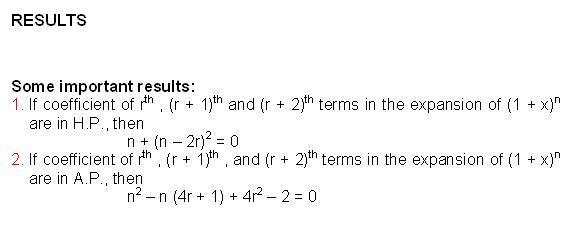 Binomial Theorem formula results maths formula pioneer mathematics ...