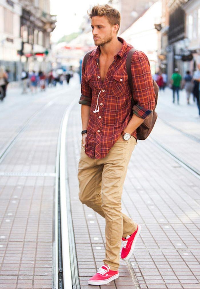 Comment bien porter le pantalon chino homme 156c3586c29