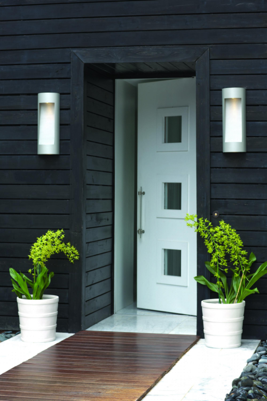 Titanium luna lanterns home pinterest puertas de - Puertas blancas exterior ...