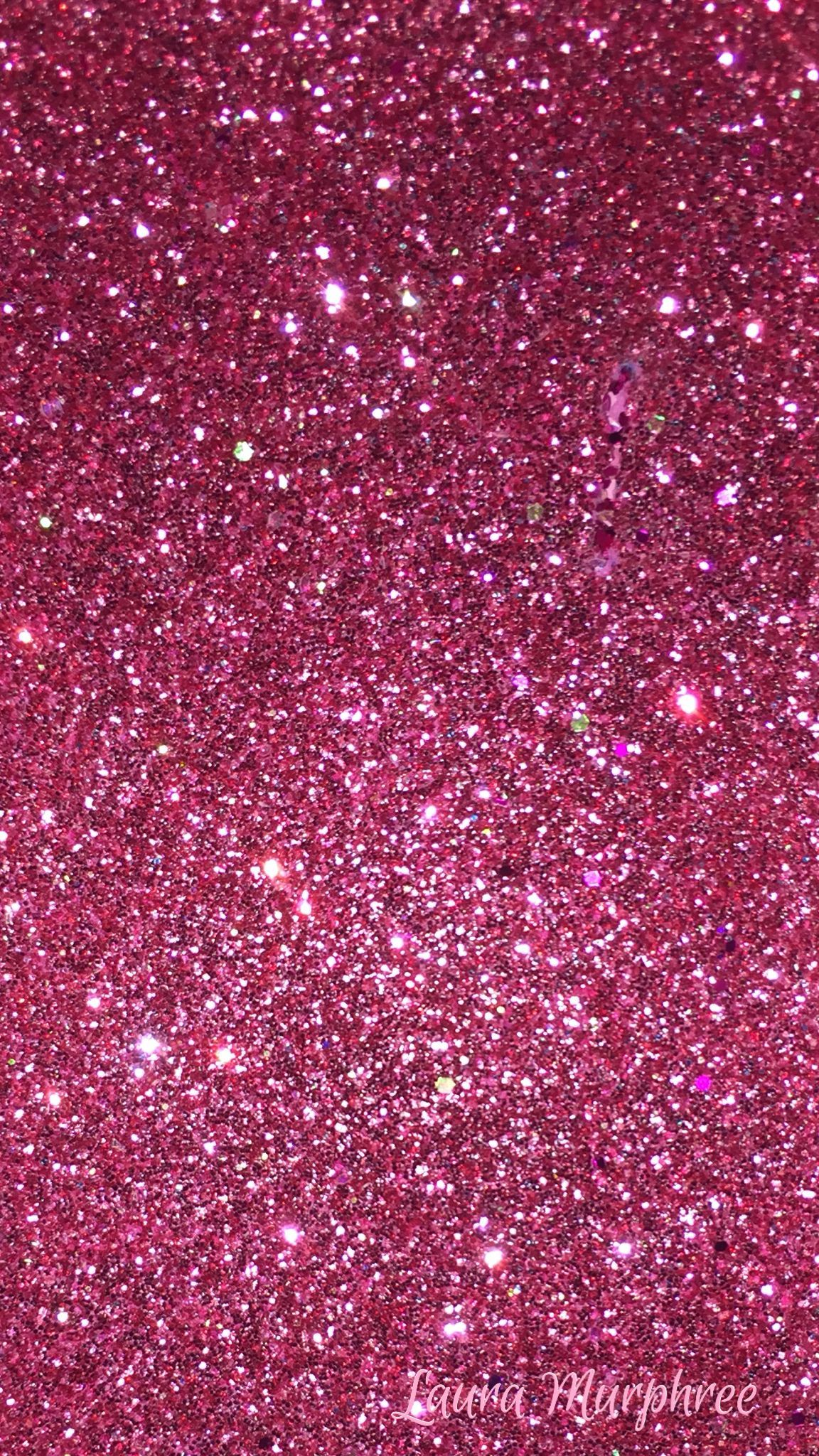 Glitter phone wallpaper pink sparkle background girly pretty hot pink #GlitterFondos | wall ...