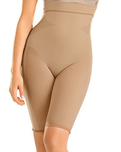 4b5a2dc40d49b Seamless High Waist Shapewear with Thigh Compression- Leonisa   Check this  awesome product by going to the link at the image.
