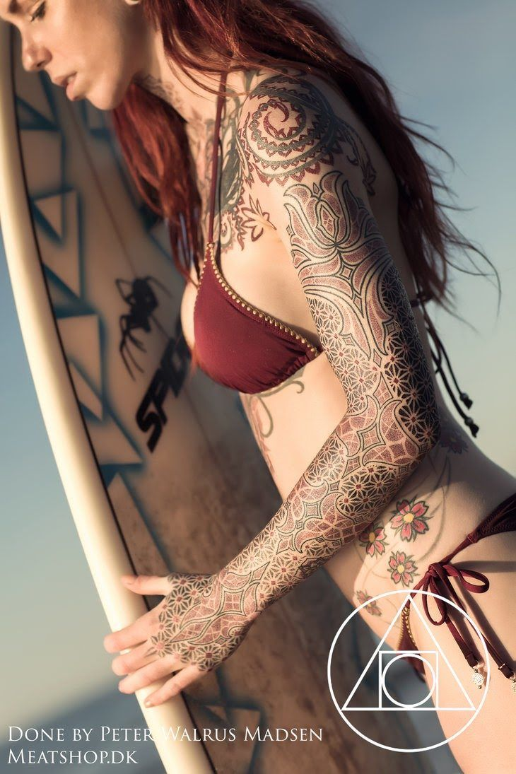 Tattooed Girls Daily Pics  Красота  Pinterest  Tattoo Tatting