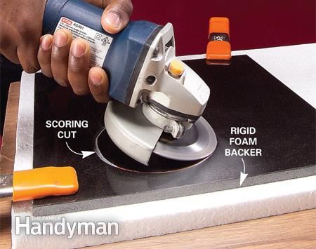 How To Cut Tile With A Grinder Part 73