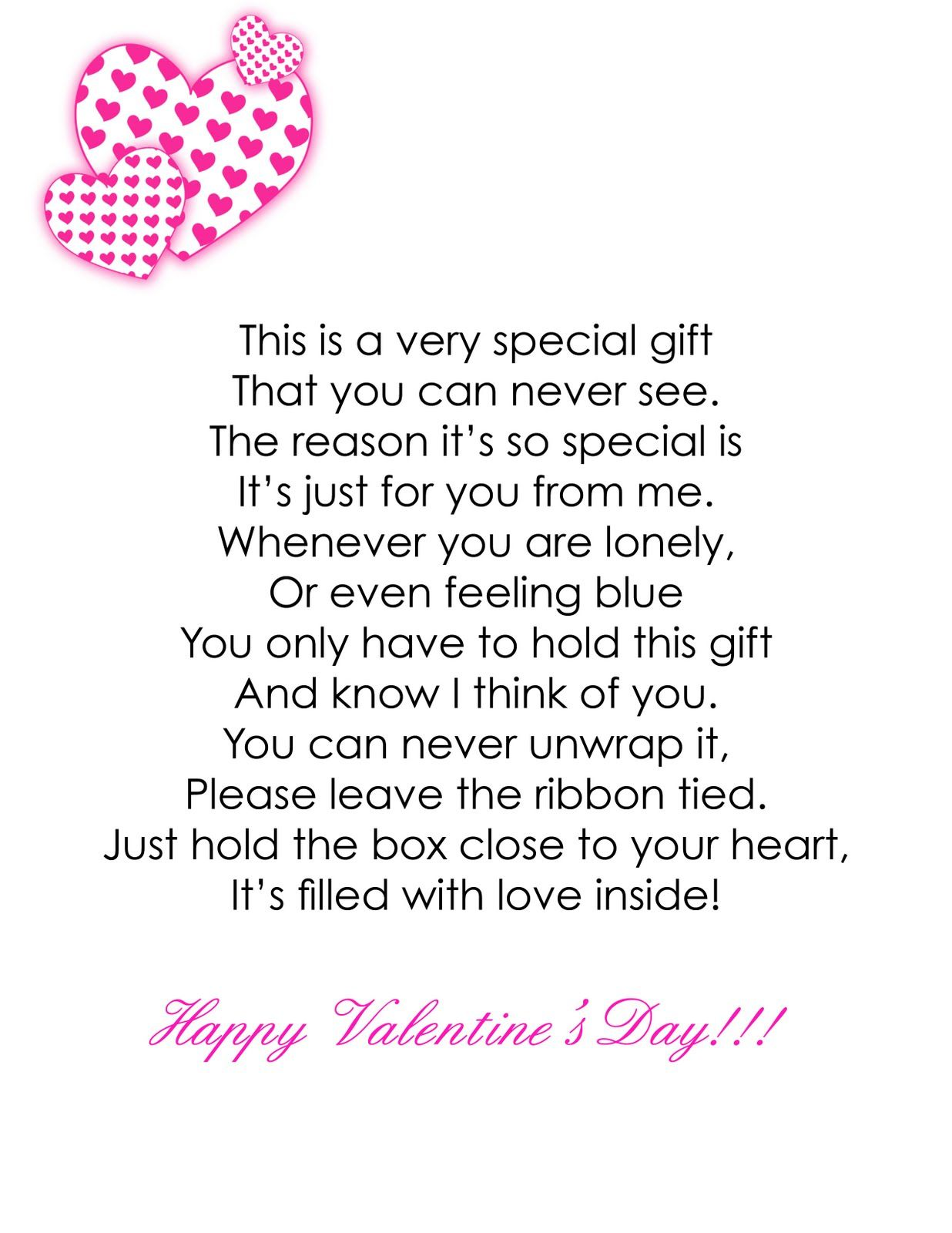 Funny Valentine Poems For Friends : funny, valentine, poems, friends, Ginny's, Valentines, Craft, Poems,, Short, Poems