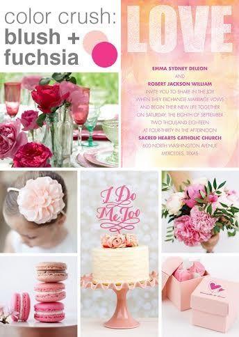 f976fa4a3ed9b Color crush  fuchsia and blush - Advice and Ideas