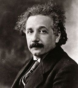 At the start of his scientific work, Einstein realized the