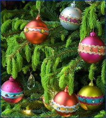 Ecosides 100mm Glas Tannenzapfen Christbaumschmuck Set von 12 12PCS, Blau h/ängende Kugeln Deko Glas Weihnachtskugeln Ornaments f/ür Christbaumschmuck f/ür Weihnachten Festival Holiday