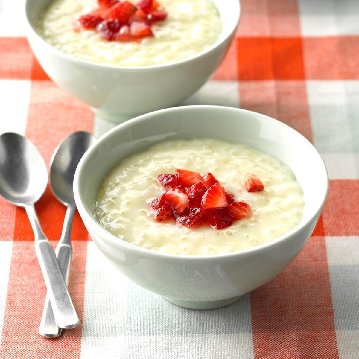OldFashioned Tapioca Recipe Recipes, Desserts