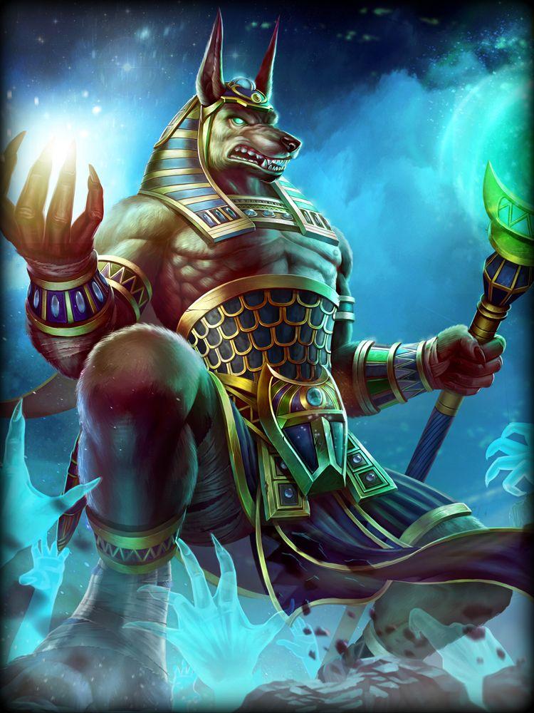 Anubis God Of The Dead Smite Anubis Egyptian Gods
