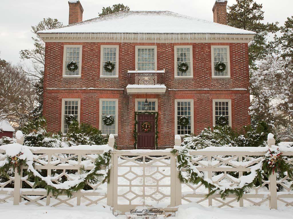 Colonial Williamsburg Christmas.The Lightfoot House Colonial Williamsburg Via History Org