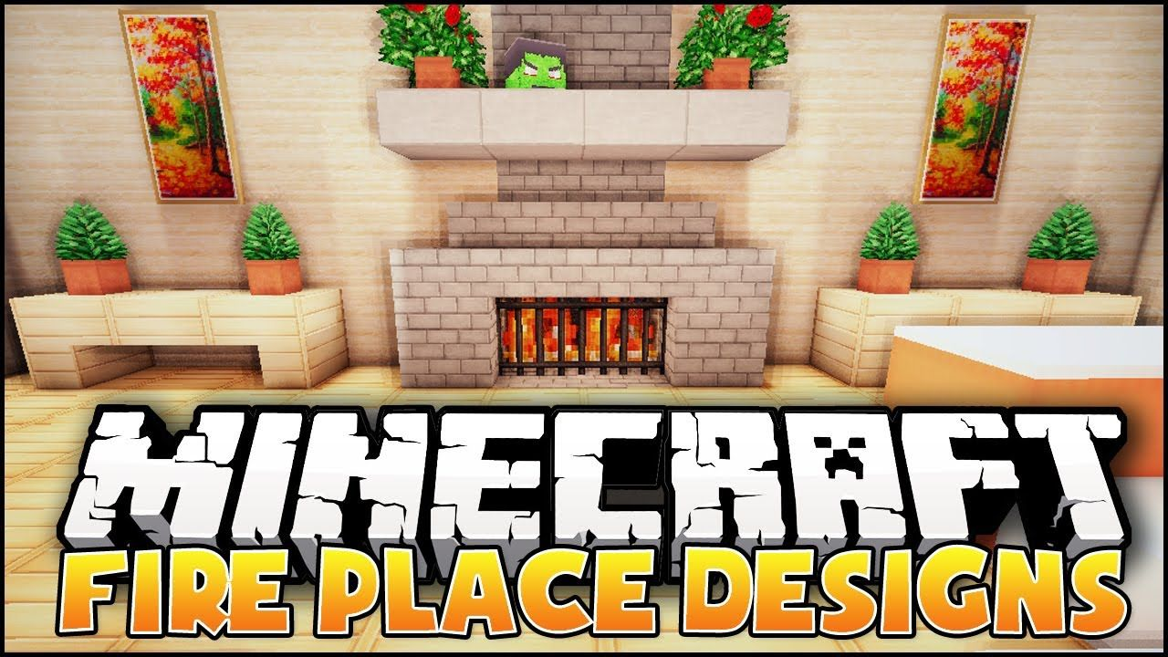 Heres a terriffic tutorial for Minecraft fireplace designs and