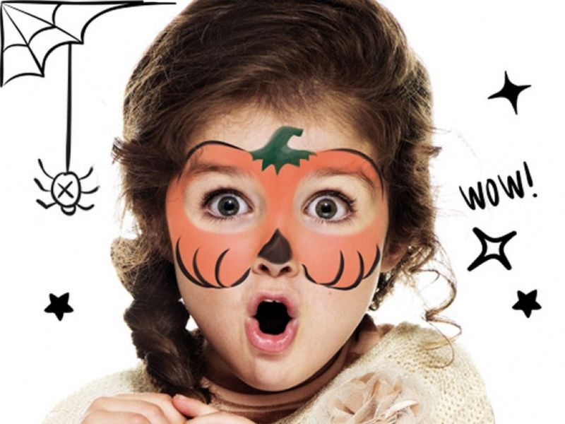 Face Painting For Halloween Con Immagini Cose Di Halloween