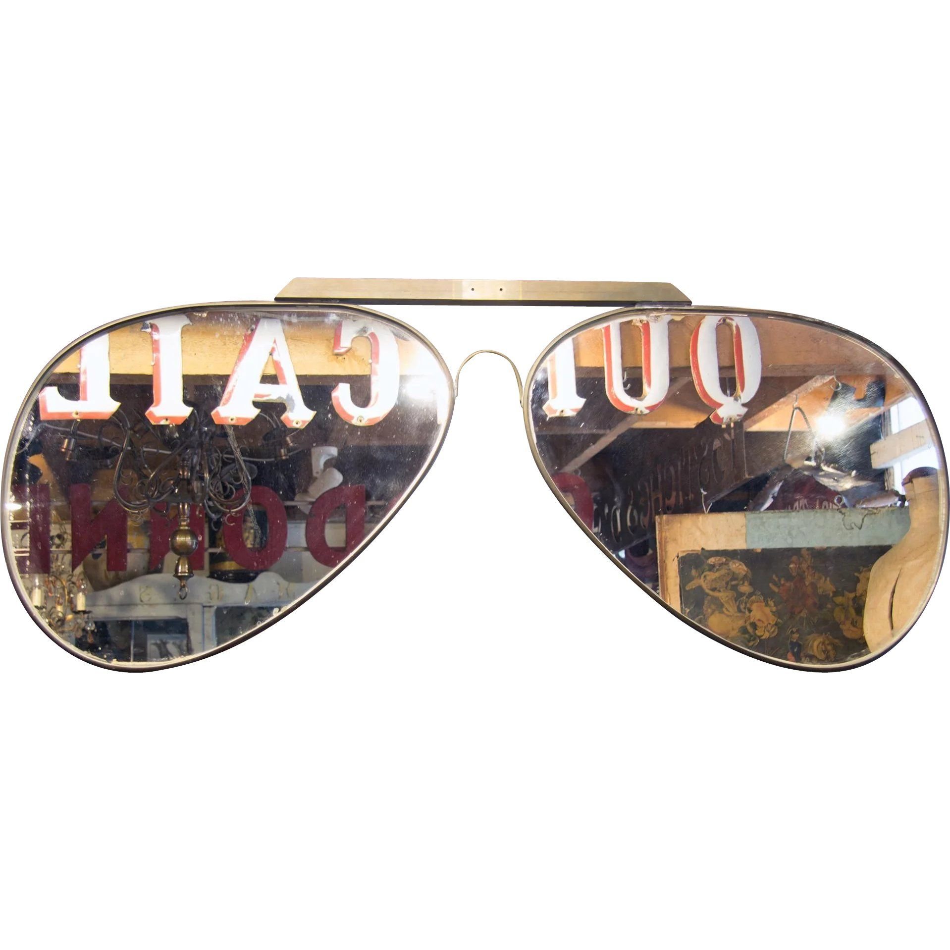 5622666585d  Aviator  Sunglasses  70 s Optician s Trade Sign www.rubylane.com   vintagebeginshere  eyewear  glasses  sunglasses