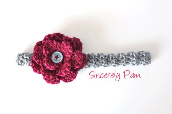 Miss Priss Headband by BySincerelyPam on Etsy, $15.00
