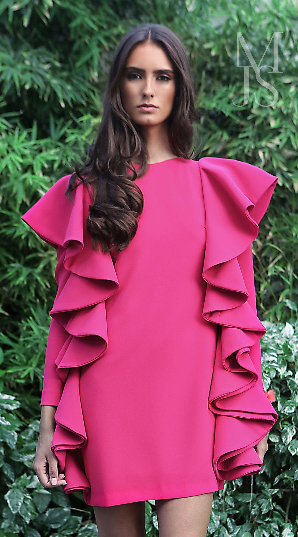 Vestido Lola - María José Suárez | sleeves | Pinterest | Vestiditos ...