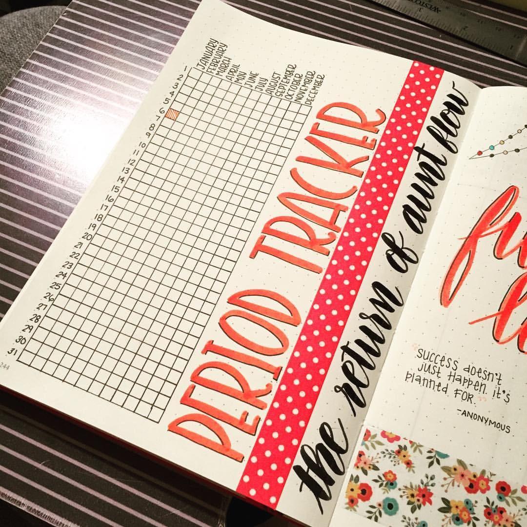 Best 25+ Bullet Journal Period Tracker Ideas On Pinterest