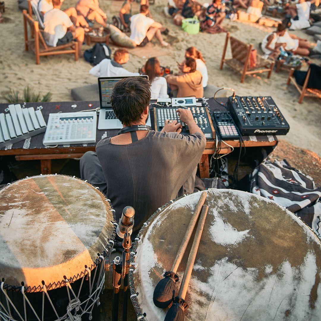5fae33f23a17 Music Rituals at Scorpios Mykonos. Photo by Claus Brechenmacher ...