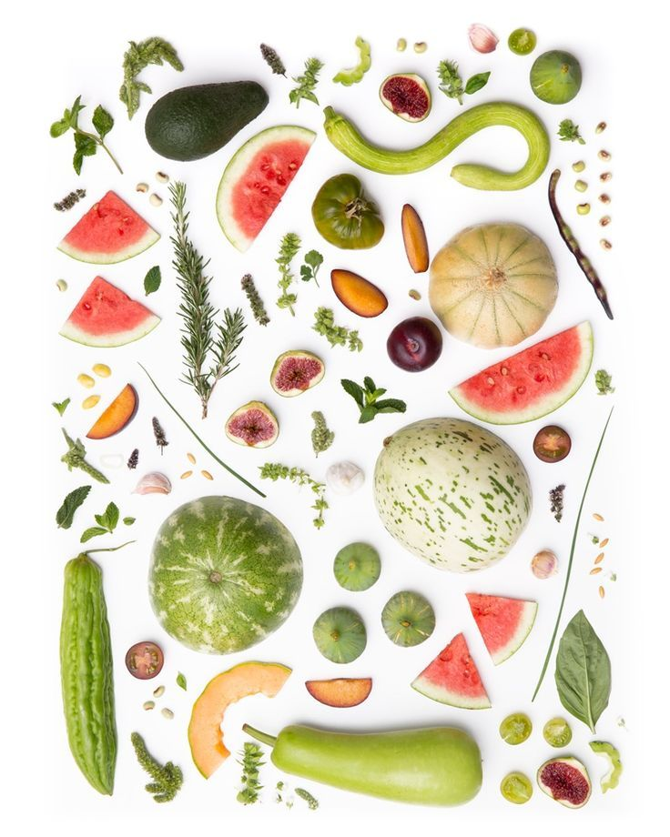 Julie's Colorful Food Collages Will Brighten Your Day - FoodiesFeed
