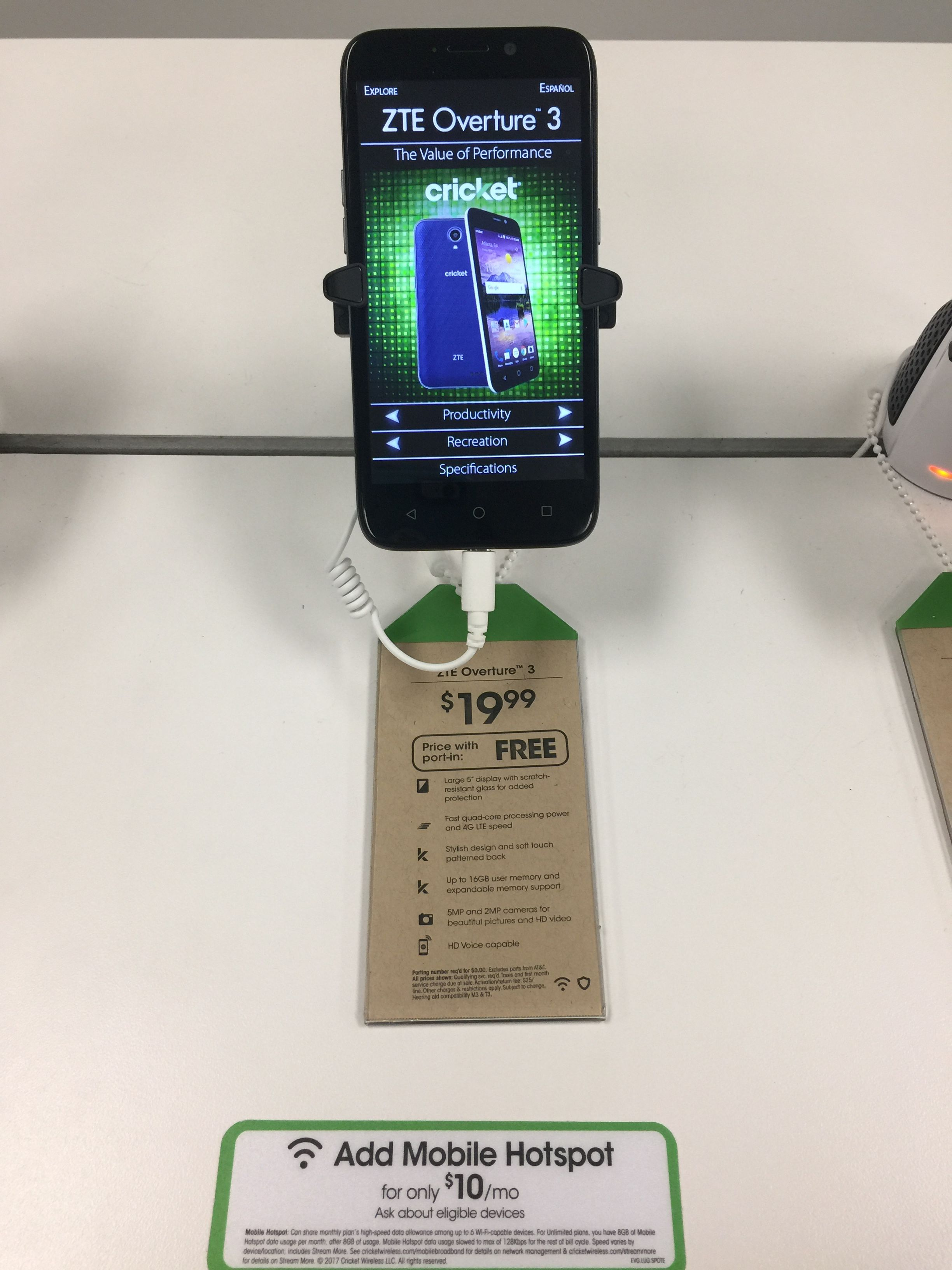 Come In Today And Get An Overture 3 For Free When You Port In Your Number Want To Add A Line To Your Account Get Prepaid Phones Cell Phone Plans Phone Plans