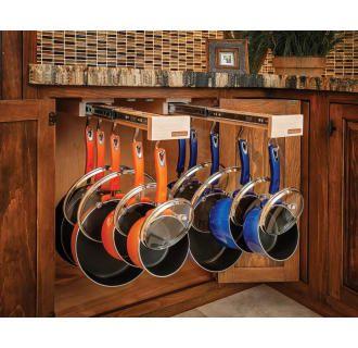 Rev-A-Shelf Glideware 7 Hook Base Cabinet Pull Out