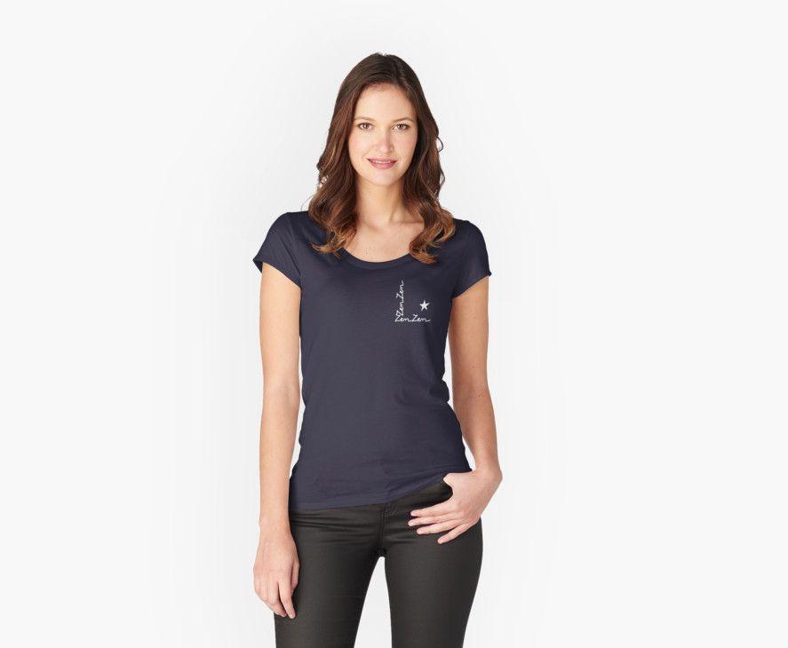 Tee shirt Zen - 1 monde à part http://www.redbubble.com/fr/people/1mondeapart/works/22833851-zen?asc=u&p=womens-fitted-scoop&rel=carousel