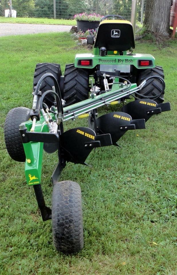 Garden Tractor Bottom Plow : S bottom plow john deere tractors pinterest