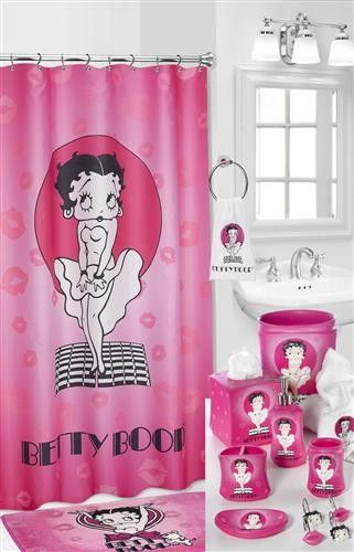 Betty Boop Shower Curtains Bathroom Accessories Google Search