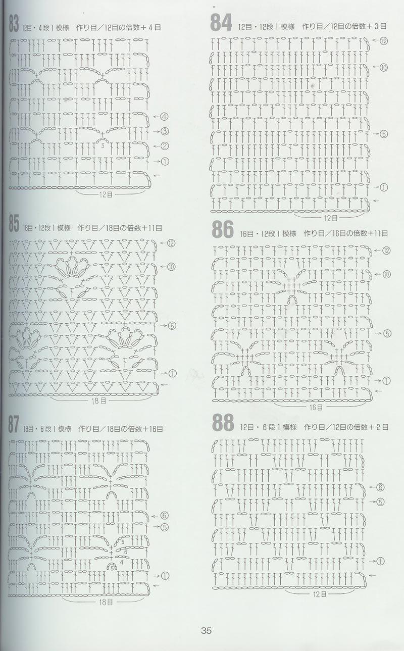 Pin de Fila India en Crochet 262 PATTERNS (Marianna Lara) | Pinterest