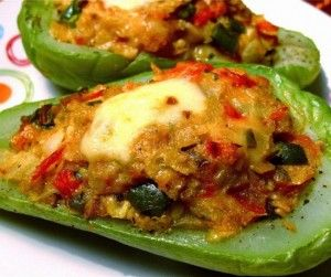 Tortilla Chip-Stuffed Chayote Recipe from Whisked Foodie | Whisk up something delicious.