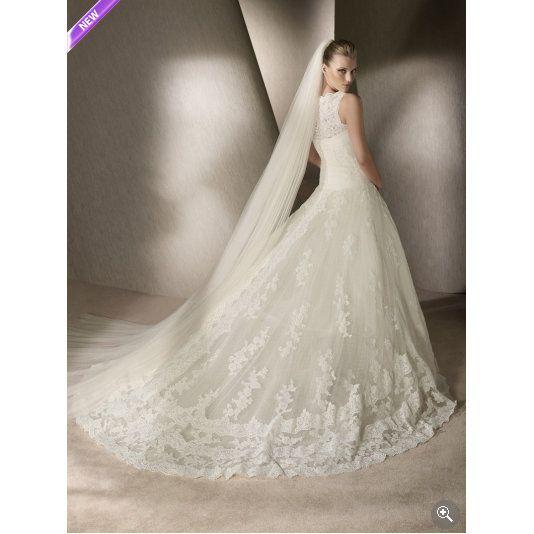 hermoso vestido de novia 2013